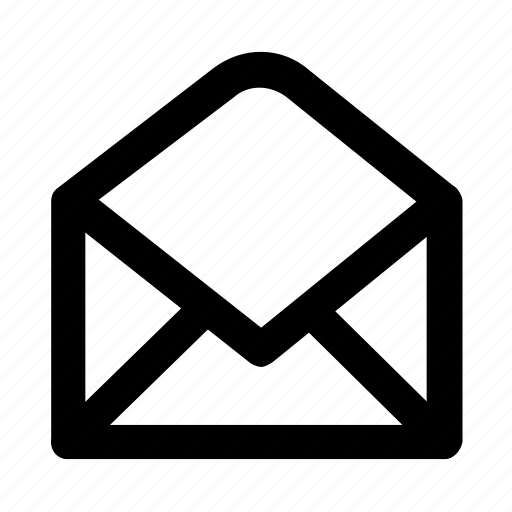 Inbox, letter, mail, message, open icon - Download on Iconfinder