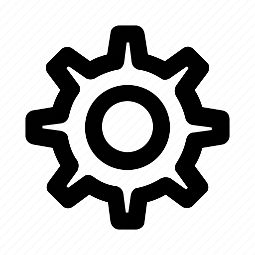 configuration, gear, maintenance, setting, wheel icon