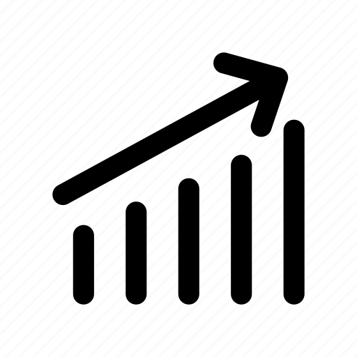 chart, finance, graph, growth, profit icon