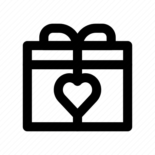 box, carton, gift, like, present icon