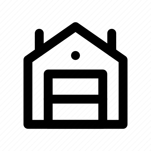 building, construction, storage, store, warehouse icon