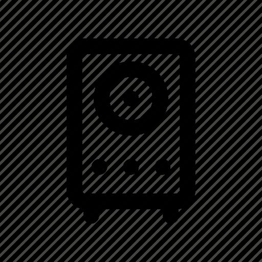 audio, sound, speaker, volume, woofer icon