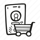 business, cart, finance, shoppable, shopping, social, social media