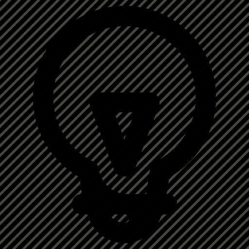 business, creative, idea, lamp icon