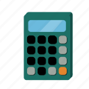 accountancy, business, calculator, math, numbers icon