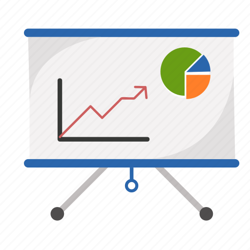 business, chart, graph, number, sales icon