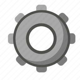 gear, option, proces, settings, work icon