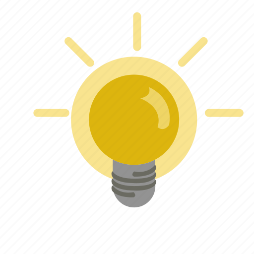 App, Glowlamp, Hint, Idea, Lamp, Software, Tip Icon