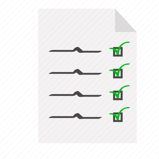 checklist, contract, events, list, to-do icon