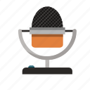 mic, microphone, music, radio, sound, speak, talk icon