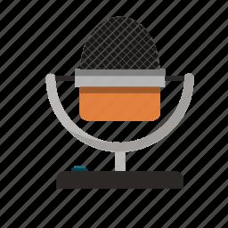 mic, microphone, music, radio, sound, speak, talk icon