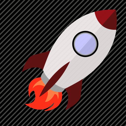 go, launch, liftoff, rocket, start icon