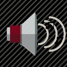 decibel, music, sound, speaker, volume icon