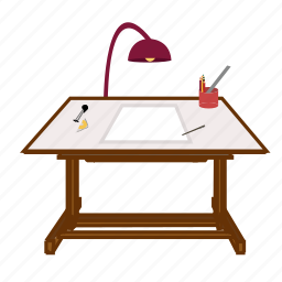 app, design, draw, drawingtable, software, table icon