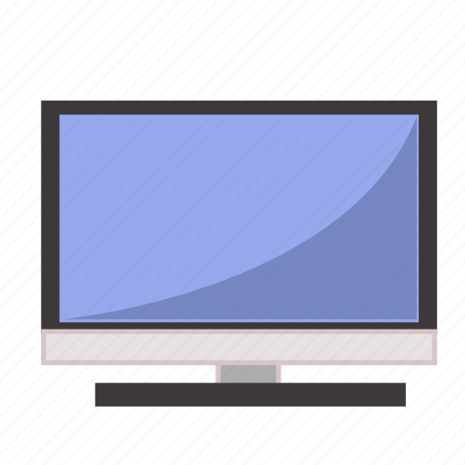 computer, it, screen, software, television, tv icon