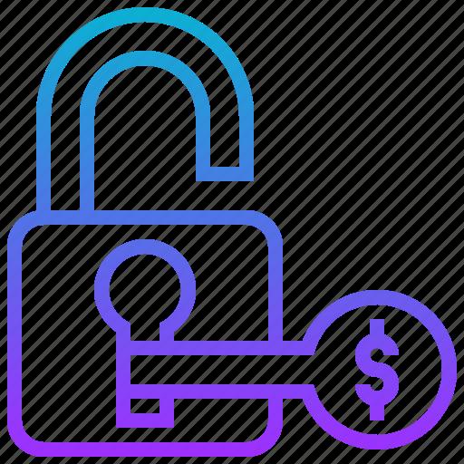 dollar, key, opportunity, solution icon