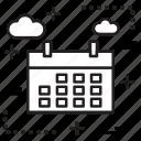 business, calendar, finance, month icon