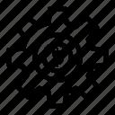 cog, dollar, gear, services, wheel icon