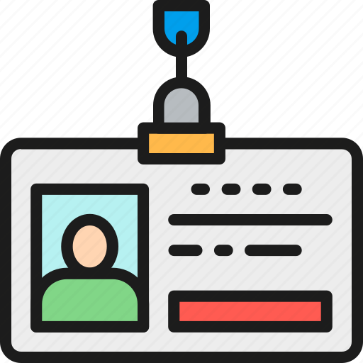 business, card, color, employee, id, identity, pass icon