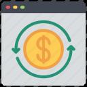 online, stock, exchange, cash
