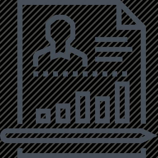 development, employee, finance, performance, skills icon