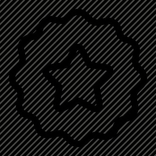 business, emblem, favorite, star icon