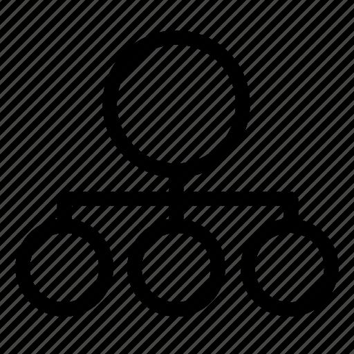 business, head, organization, staff icon
