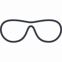 business, finance, glasses, sunglasses icon