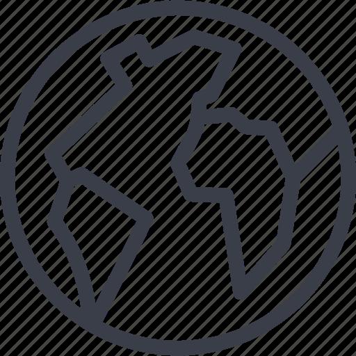 Map, business, world, navigation icon
