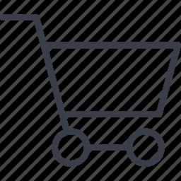 basket, business, marketing, shopping icon