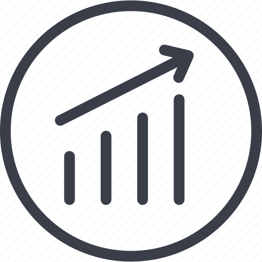 analytics, business, chart, diagram, statistics icon