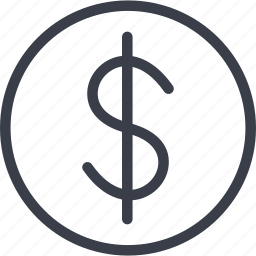 business, cash, dollar, money icon