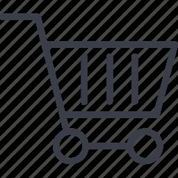 basket, business, money, shopping icon