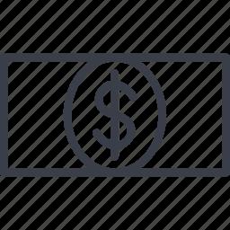 business, cash, dollar, money icon