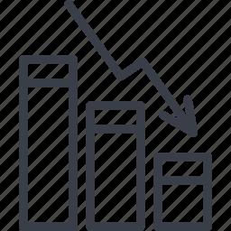 analysis, business, chart, diagram, marketing, statistics icon