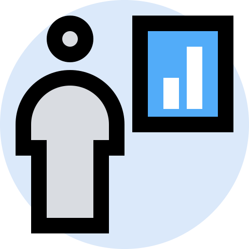 Business Finance Management Marketing Office Presentation Icon Free Download
