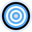business, finance, management, marketing, office, target icon