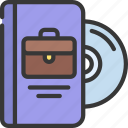 business, software, brief, case, disc