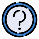 question, help, info, button, faq