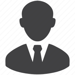avatar, business, businessman, man, person, profile, user icon