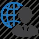 business, businessman, global, globe, international, man, worldwide