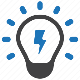 bulb, business, creative, creativity, education, idea, light icon