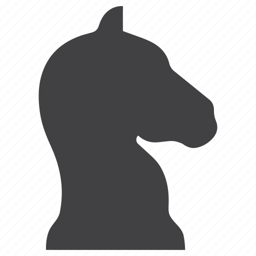 chess, game, horse, piece, strategy, tactics icon