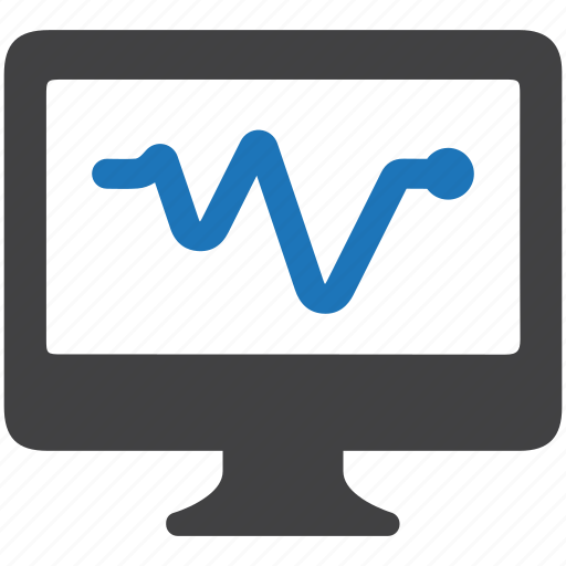 analysis, banking, business, computer, monitor, report icon