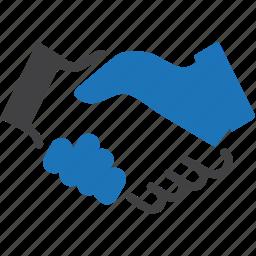 agreement, business, businessman, deal, hand, hands, handshake icon