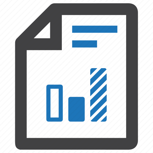 business, chart, finance, financial, graph, infographic, report icon