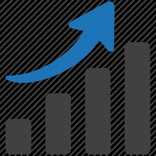 analytics, bar, business, chart, charts, diagram, graph icon