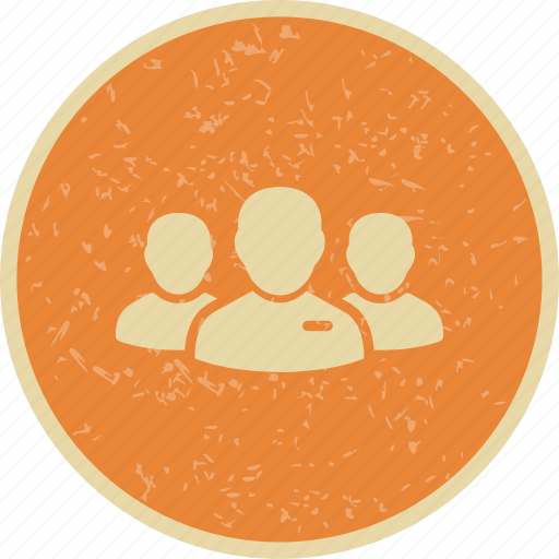 group leader, leader of group, users icon