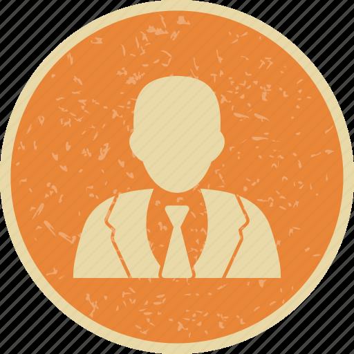 avatar, businessman, person icon