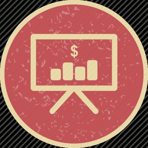 graph, marketing, plan icon